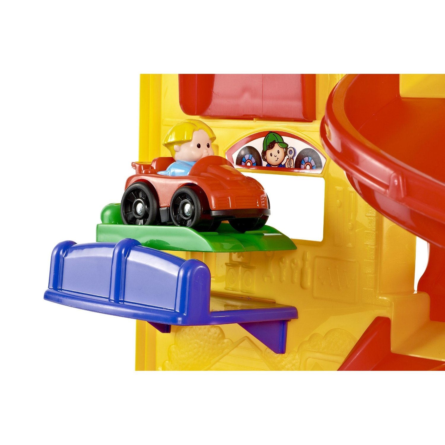 fisher-price little people wheelies stand n play rampway 11