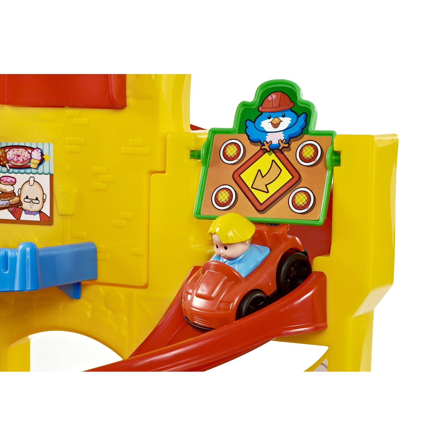 fisher-price little people wheelies stand n play rampway 7