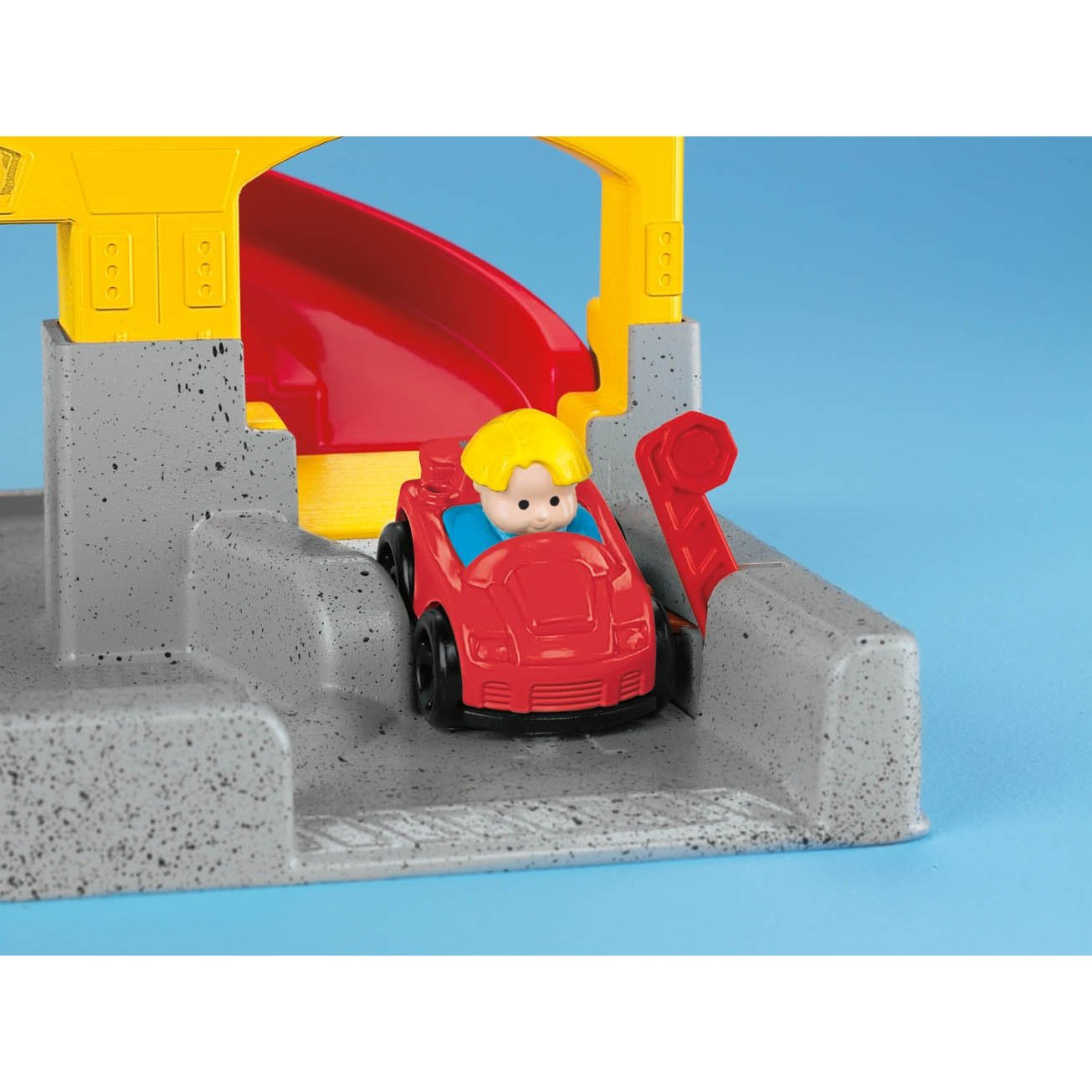 fisher-price little people wheelies stand n play rampway 9